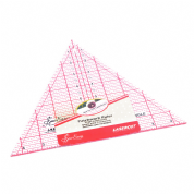 "Sew Easy Patchwork Ruler - 60 Degree Triangle - 8"" x 9.25"""